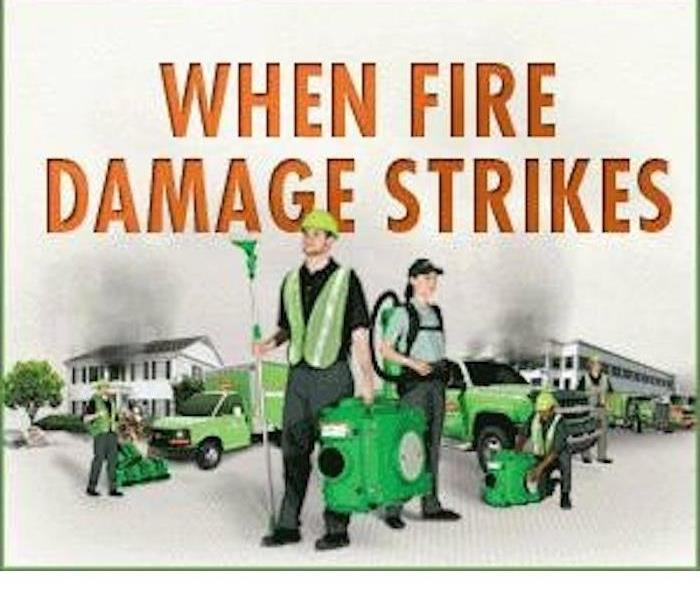 SERVPRO of Barrington/North Schaumburg is there quickly when fire damage occurs
