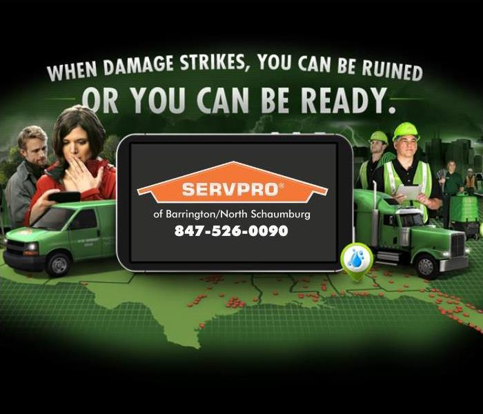 Example of what the SERVPRO ready plan website looks like